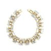 Felicita Bridal Bracelet - Gold - Bracelet Wedding - Roman & French