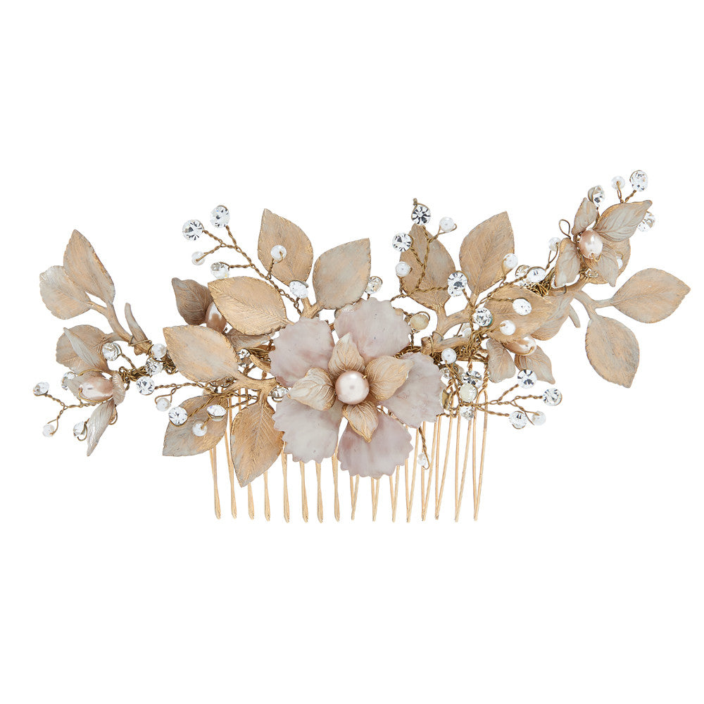 Fiorentina Bridal Comb - Hair Accessories - Hair Comb - Roman & French