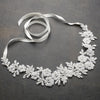Flora Bridal Headband - Ivory - Roman & French  - 1