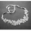 Flora Bridal Headband - White - Roman & French  - 1