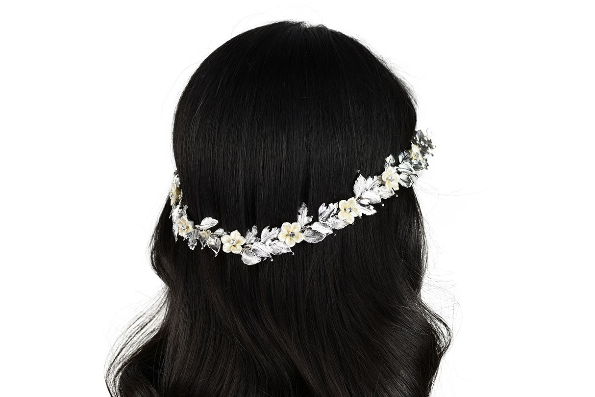 Florina Bridal Hair Vine