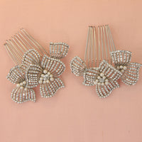 Frankie Bridal Hair Combs - Roman & French  - 1