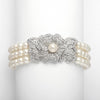 Dominique Bridal Bracelet - Roman & French  - 1