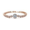 Gatewood Bridal Bracelet - Rose Gold - Roman & French
