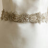 Geranium Bridal Sash - Roman & French  - 1