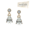 Giana Bridal Earrings - Earrings - Classic Short Drop - Roman & French