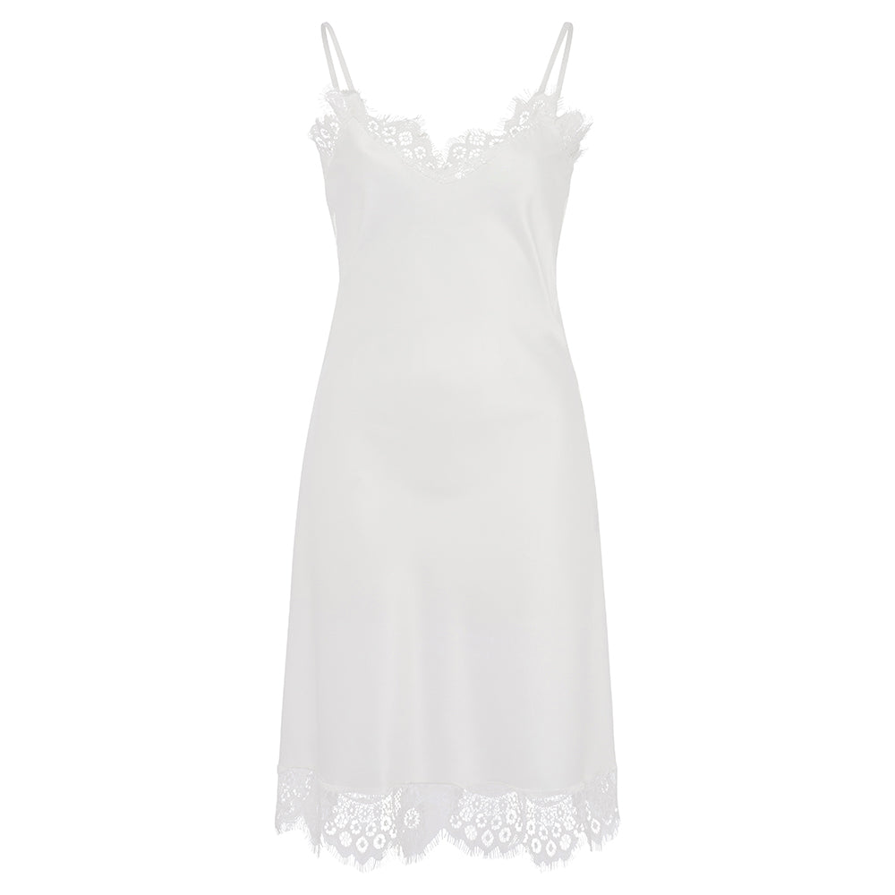 Gigi Bridal Slip with Lace Trim - Knee Length