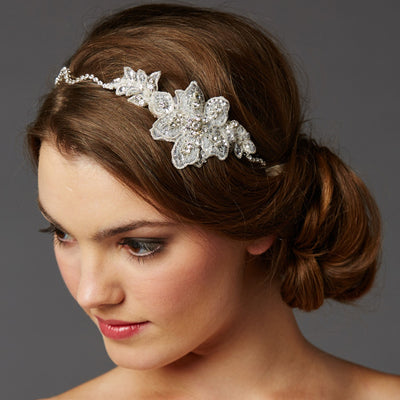 Halette Bridal Headband - Hair Accessories - Headbands,Tiara - Roman & French