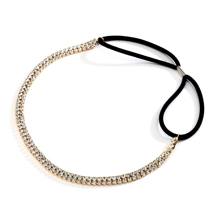 Hayley Bridal Headband (Gold)