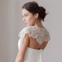 Ivanka Bridal Cover Up - Couture - Roman & French  - 2
