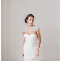 Ivanka Bridal Cover Up - Couture - Roman & French  - 1