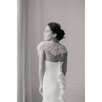 Ivanka Bridal Cover Up - Couture - Roman & French  - 3