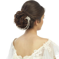 Irma Bridal Headpiece - Roman & French  - 2