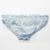 Just Married Bridal Knicker - Aqua Chiffon Clear Crystal