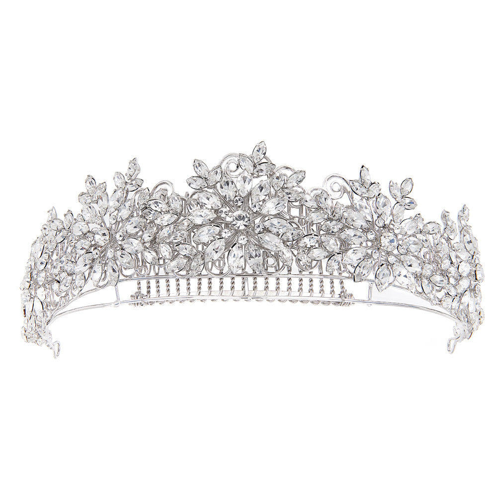 Jasmine Bridal Tiara - Hair Accessories - Tiara & Crown - Roman & French