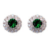 Jelka Earrings (Green) - Roman & French