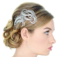 Jessica Bridal Hair Comb - Roman & French  - 3