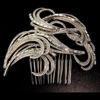 Jessica Bridal Hair Comb - Roman & French  - 1