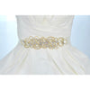 Juli Bridal Belt (Gold) - Roman & French