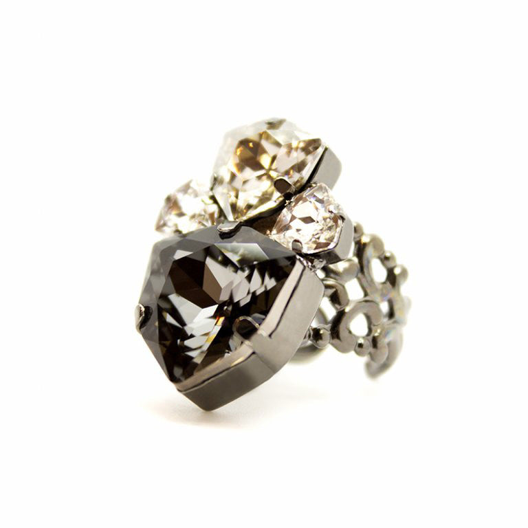 Kamari Ring - Bridal Ring - Roman & French