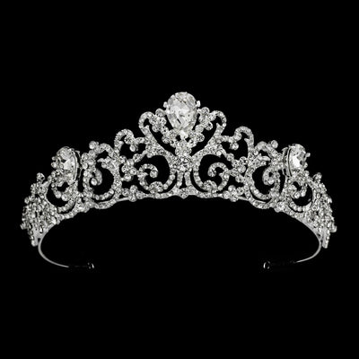 Kendall Bridal Tiara - Hair Accessories - Tiara & Crown - Roman & French