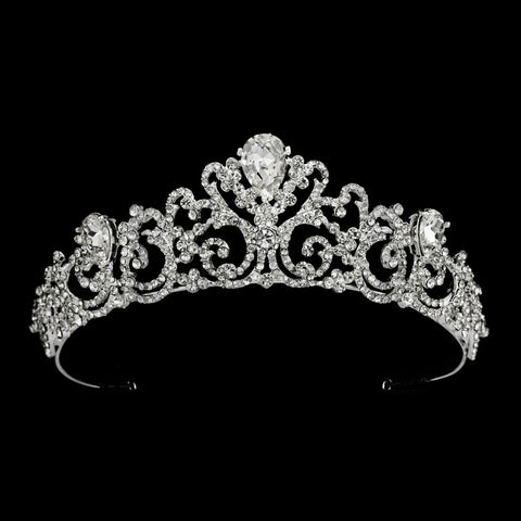 Kendall Bridal Tiara - Roman & French