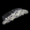 Kensey Bridal Hair Comb - Roman & French