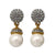 Kinley Bridal Earrings - Earrings - Classic Short Drop - Roman & French