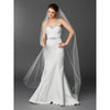 Kristine Bridal Veil - White - Roman & French