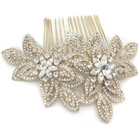 Kyle Bridal Hair Comb - Roman & French  - 1