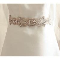 Leila - Bridal Sash - Couture - Roman & French  - 1