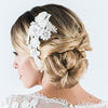 Sabine Bridal Headpiece - Roman & French  - 1