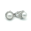 Liana Bridal Earrings Clip On - Roman & French