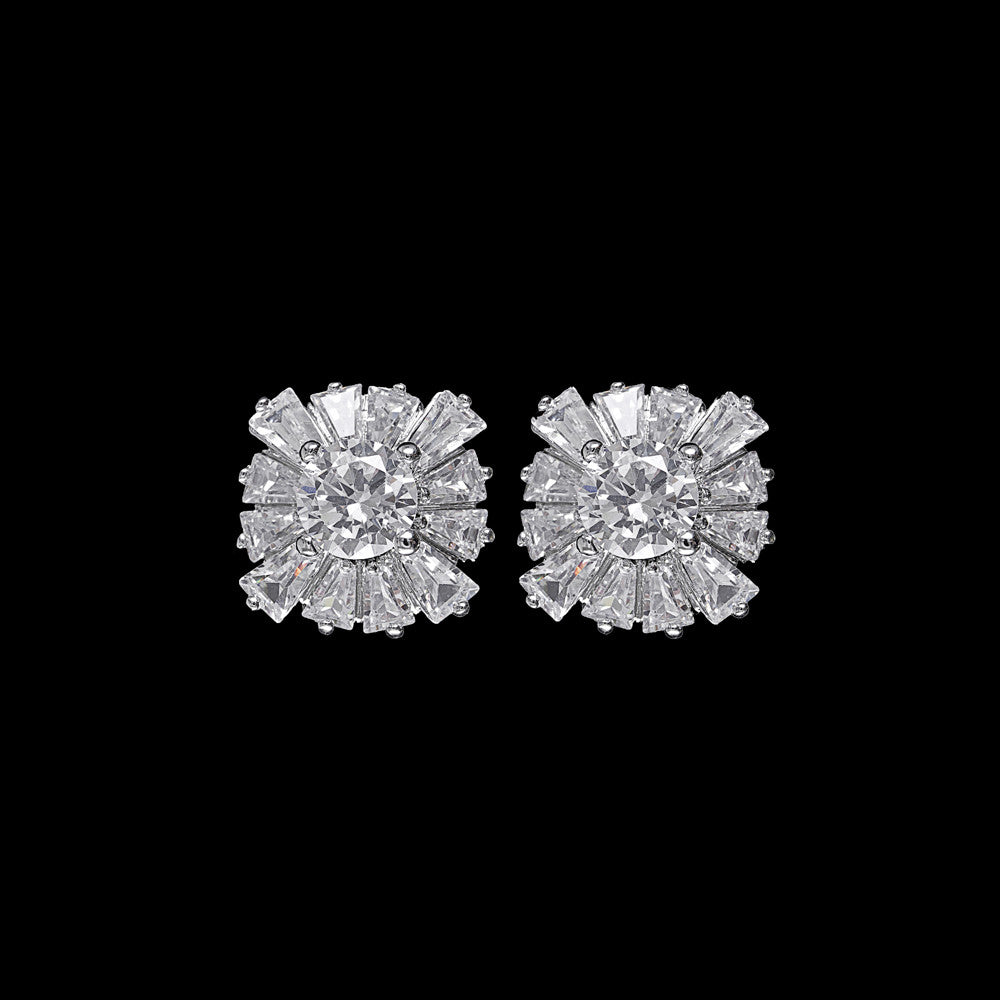 Liberty Bridal Earrings - Roman & French  - 1