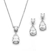 Lori Bridal Necklace & Earrings Set - Roman & French