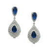 Luisa Bridal Earrings - Roman & French