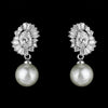 Chelsey Bridal Earrings - Earrings - Classic Short Drop - Roman & French