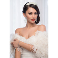 Morgan Bridal Hair Comb - Roman & French  - 4
