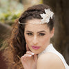 Madeline Bridal Headpiece - Roman & French  - 1