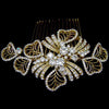 Maira Bridal Hair Comb - Roman & French  - 2