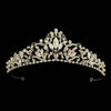 Maisa Bridal Crown (Gold)