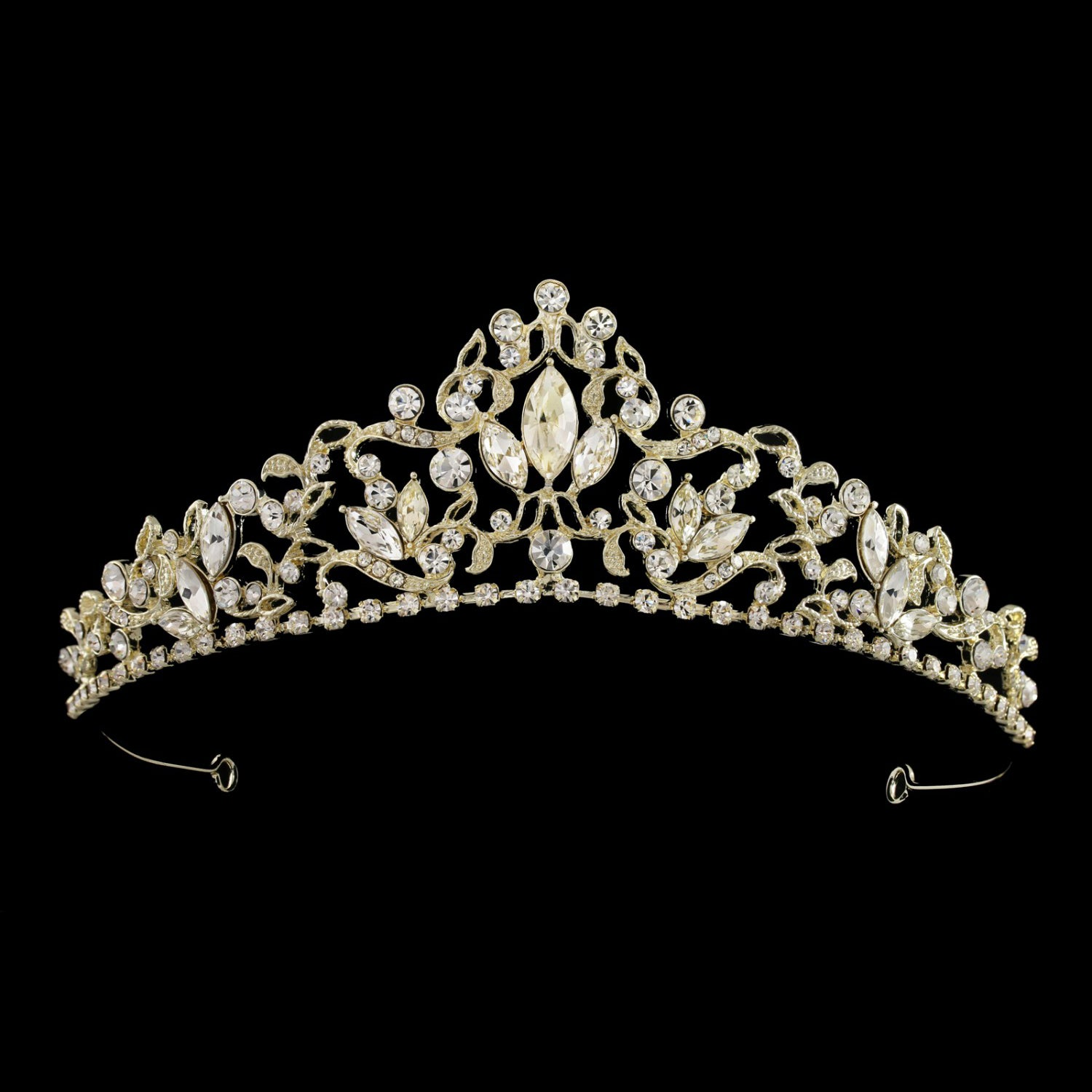 Maisa Bridal Crown - Gold