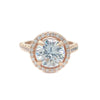 Malia Ring (Rose Gold) - Bridal Ring - Roman & French