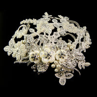 Marchesa Bridal Headpiece - Roman & French  - 3