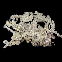 Marchesa Bridal Headpiece - Roman & French  - 4