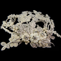 Marchesa Bridal Headpiece - Roman & French  - 5
