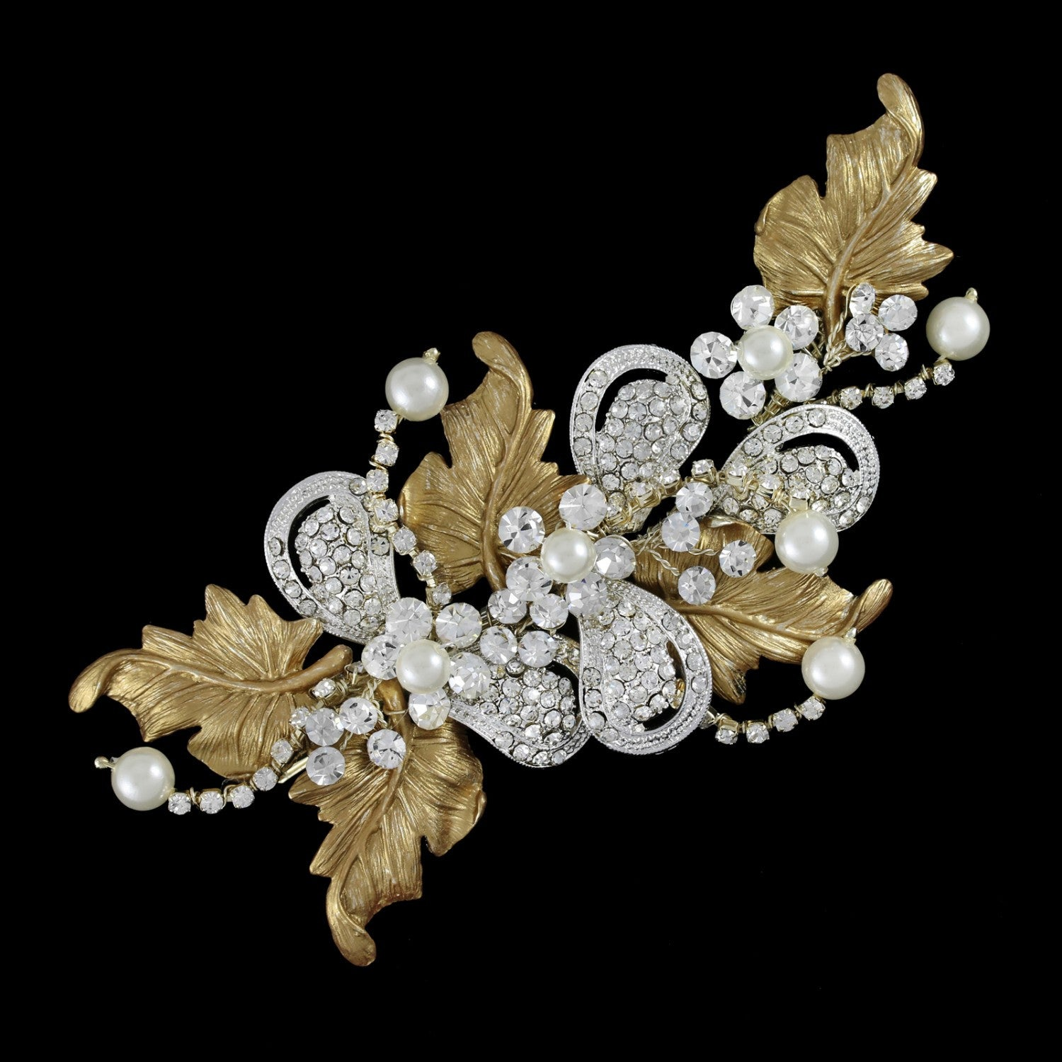Marine Bridal Headpiece - Hair Accessories - Headpieces - Roman & French