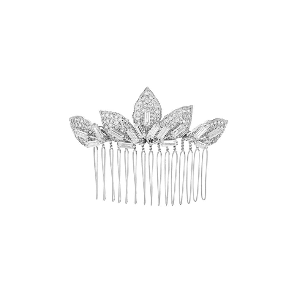 Maxine Bridal Comb - Hair Accessories - Hair Comb - Roman & French