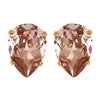 Mia Bridal Earrings (Rose Gold) - Earrings - Glamour Stud - Roman & French
