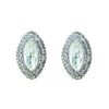 Michele Bridal Earrings Clip On - Roman & French